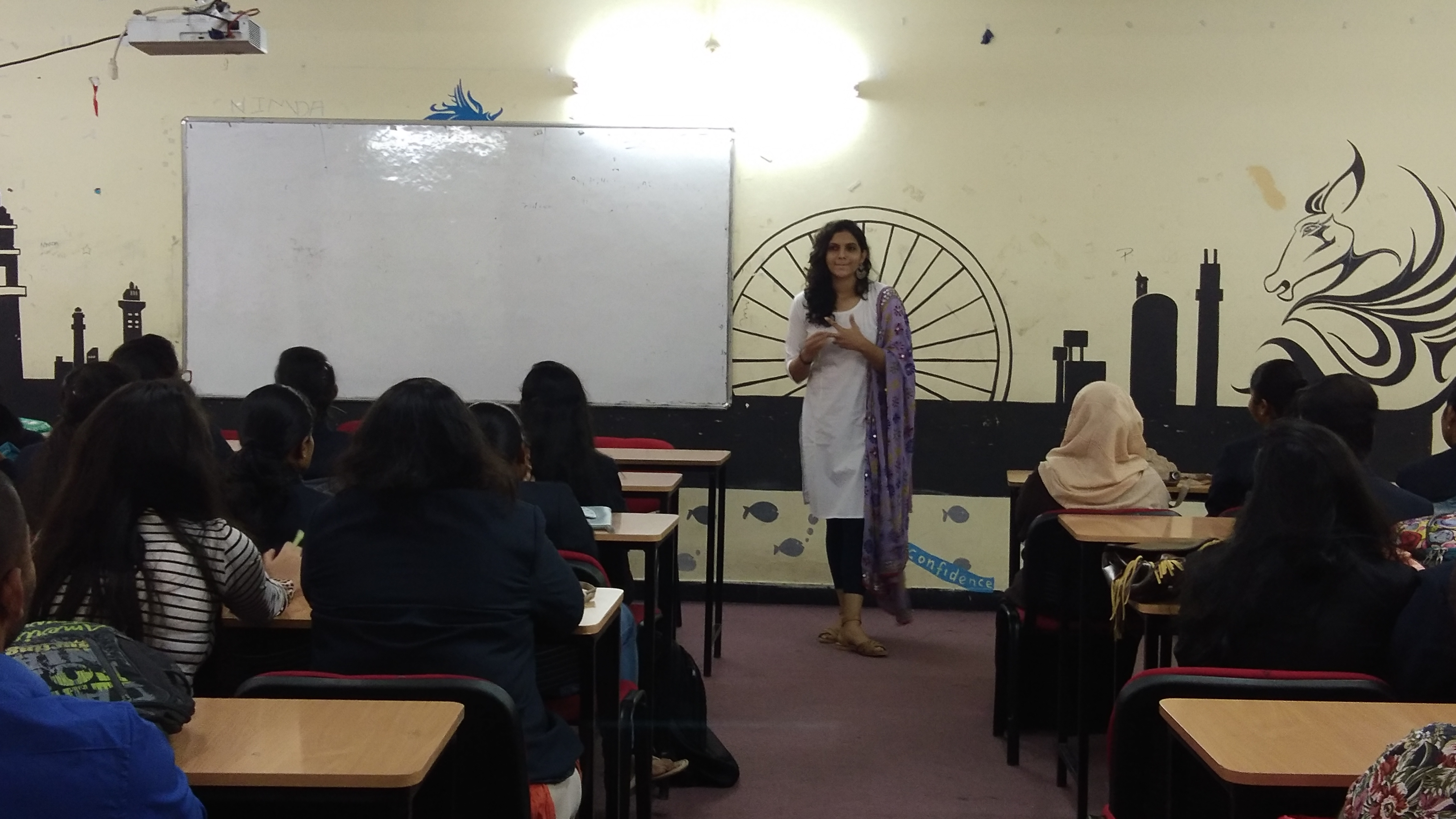 GUEST LECTURE ON PROJECT AND INTERNSHIP BY MEGHA G