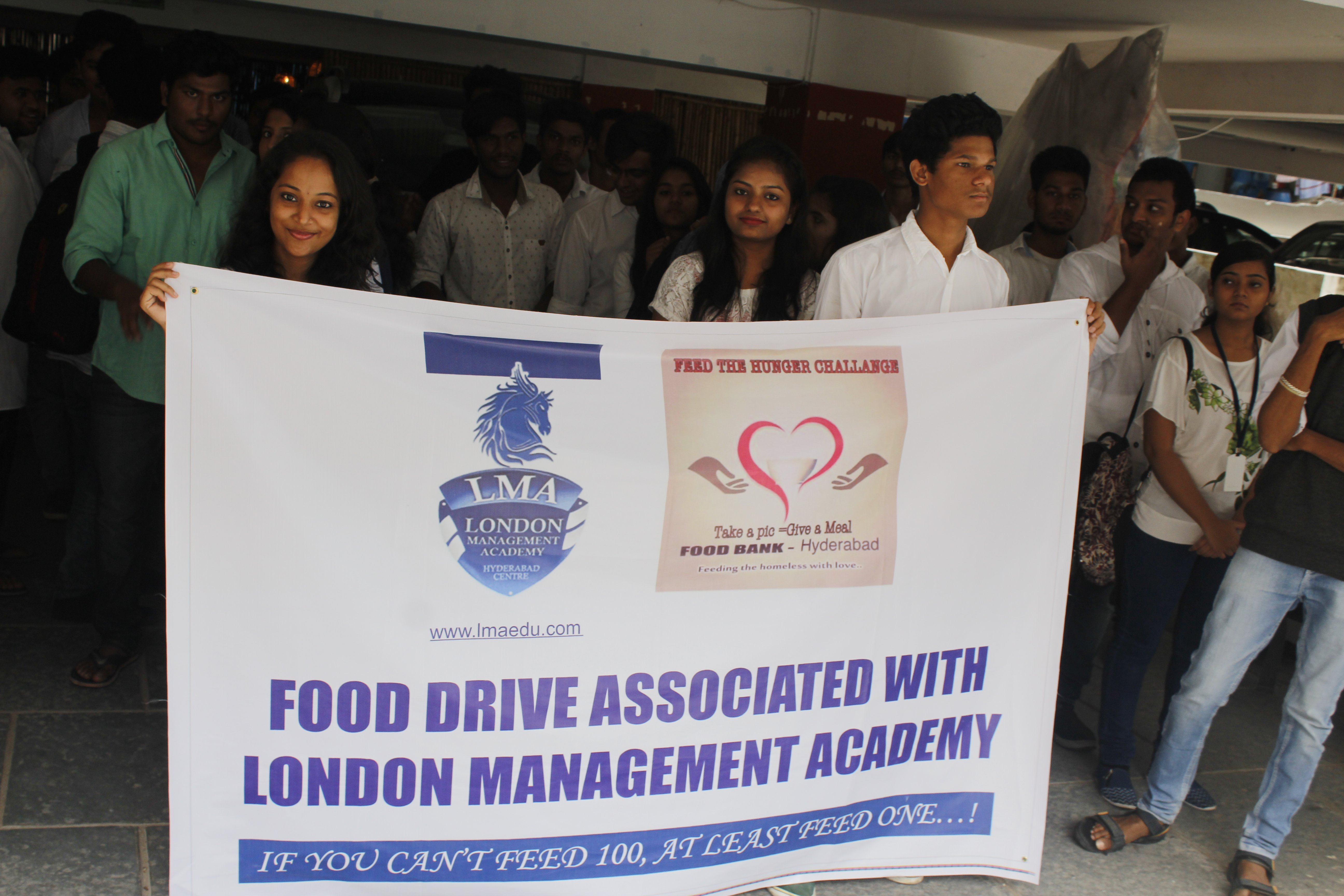 Fooddrive and Industrial Visit