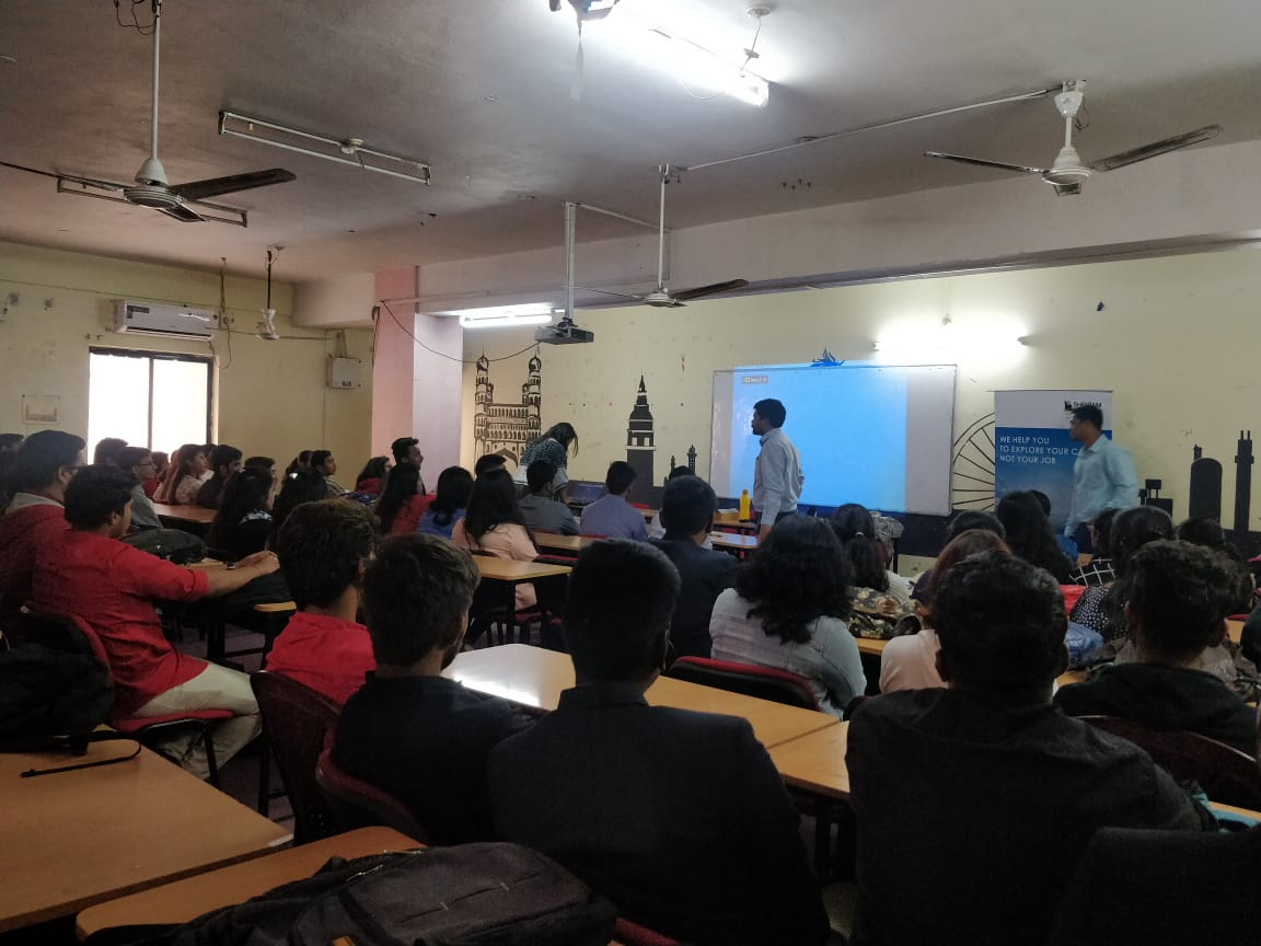 GUEST LECTURE AND INTERNSHIP DRIVE BY SHRIRAM LIFE