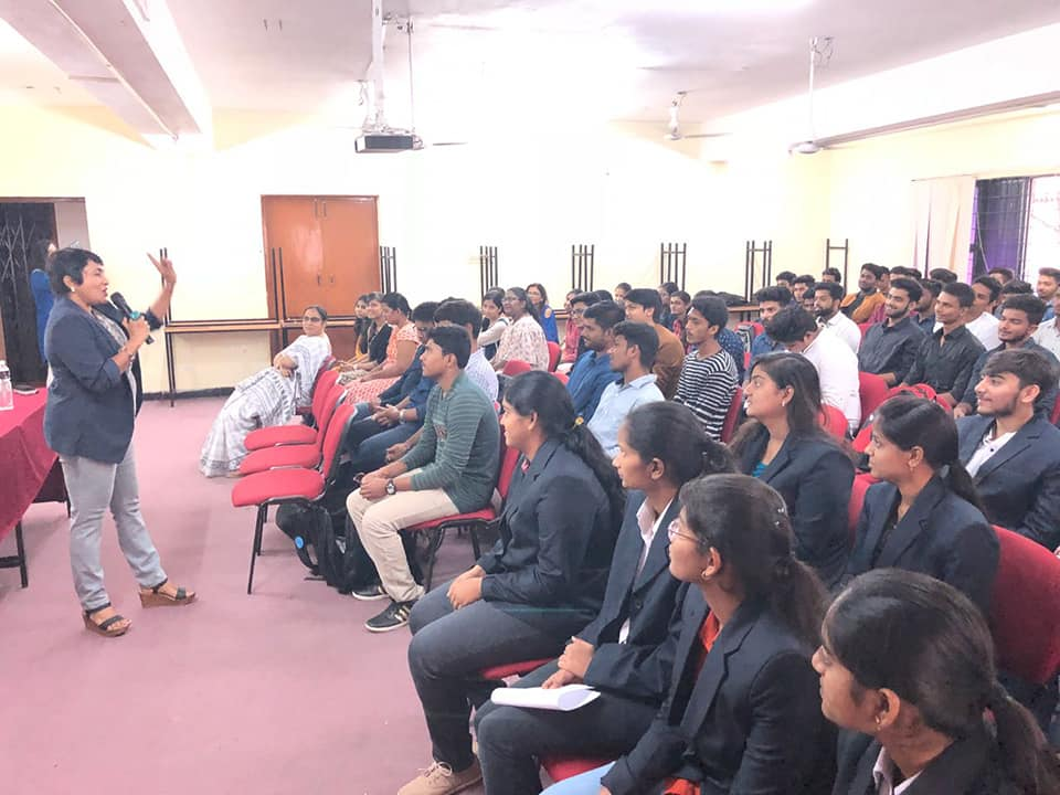 GUEST LECTURE ON PERSONAL MASTERY BY Ms. Sheila Ra